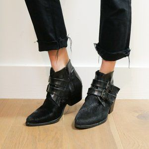 UO Black Hair Boots